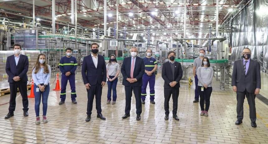 CCU Argentina anunció inversiones por más de 4.500 millones de pesos en su cervecería de Luján