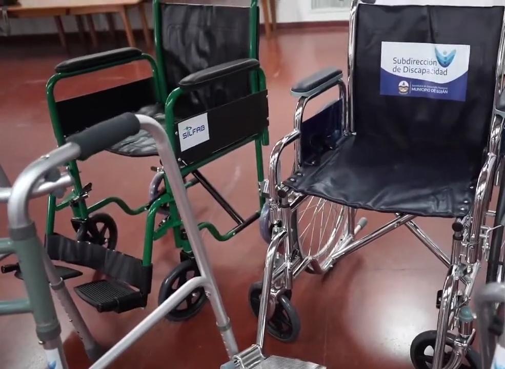Luján Ciudad Inclusiva: Banco de Elementos Ortopédicos