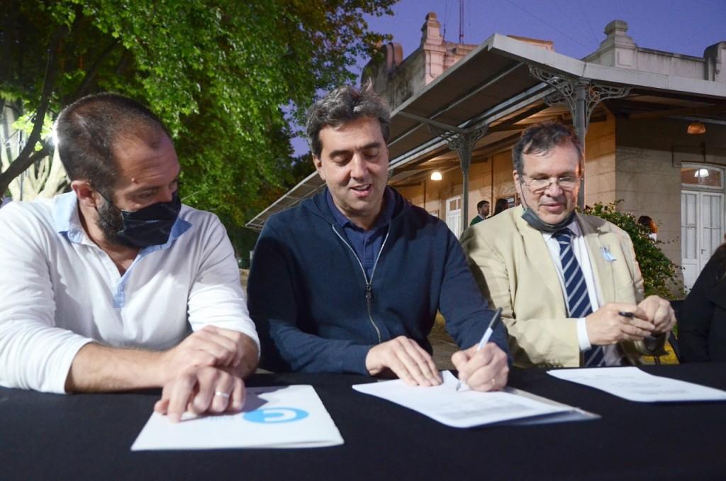 Culturas y turismo: El Municipio avanza en la reconstrucción del edificio
