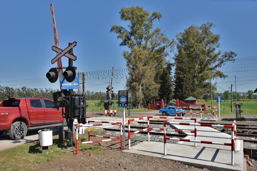 Renovación de vías: se habilitó el paso de Hostería Norte y se cerró el de la rotonda de Jáuregui