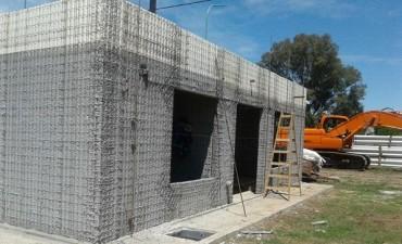 Informe de obra de las viviendas del barrio Santa Marta