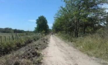 Avance en los mejoramientos de caminos rurales