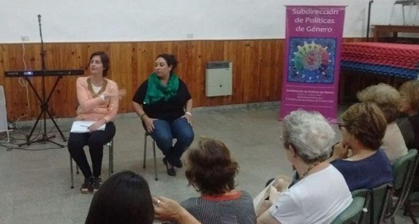 Tercera Edad: desarrollaron un nuevo encuentro sobre violencia de género