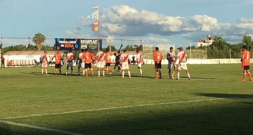 Luján no pudo salir del empate ante Berazategui