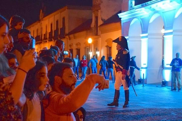 Luján disfrutó de la Noche de los Museos
