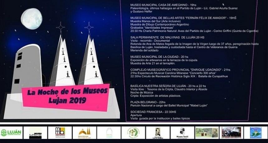 La Noche de los Museos se vivirá en Luján