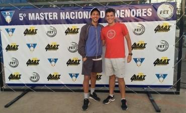 Santiago Bramajo y Patricio Oliverio apuntan al tenis profesional