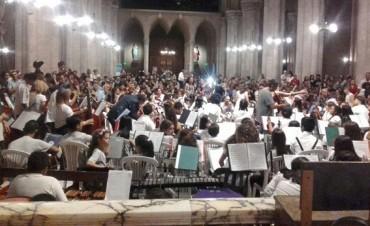 Orquestas del Bicentenario: exitoso concierto de fin de año
