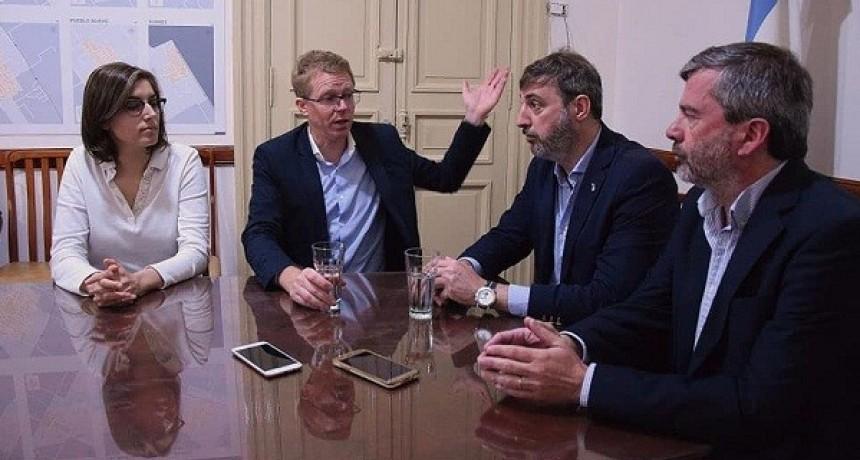 El presidente del Banco Provincia visitó Luján