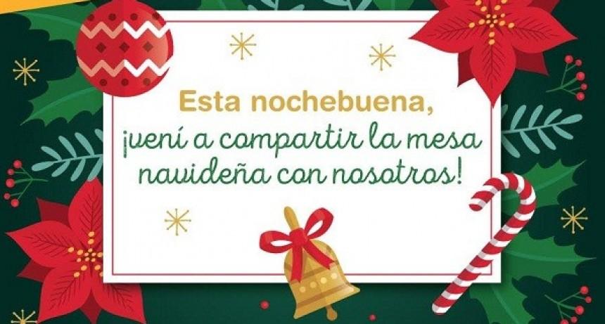 Nochebuena solidaria en Luján